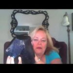 BLUE GOLD STONE :PSYCHIC DEBBIE AND STONES